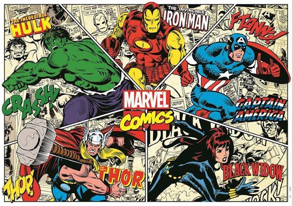 Imagen de Puzzle 1000 Piezas Marvel Comics