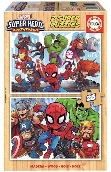 Imagen de Puzzle Marvel Super Héroe Aventuras 2X25
