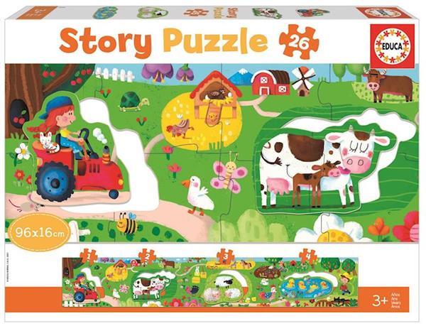 Imagen de Puzzle 26 Granja Con Elementos Extraibles
