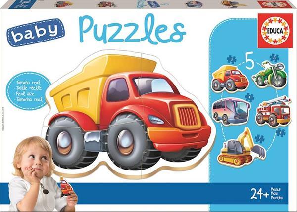 Imagen de Puzzle Baby Vehículos