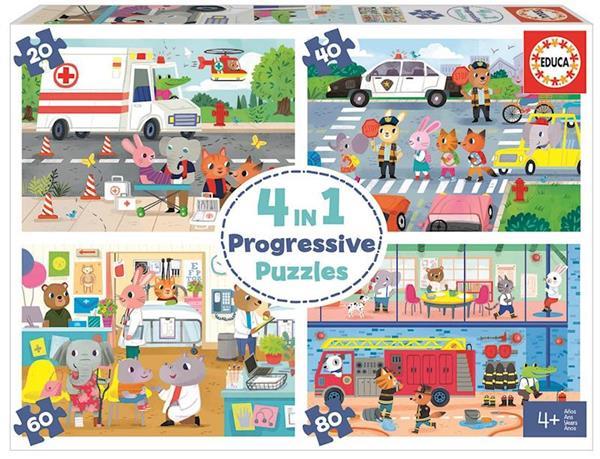 Imagen de Héroes En Acción Puzzle Progresivo