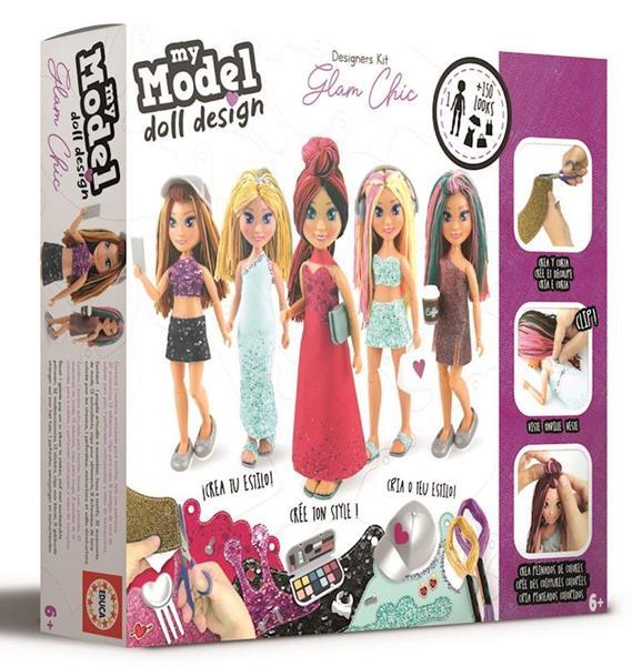 Imagen de Muñeca My Model Doll Glam-Chic Articulada