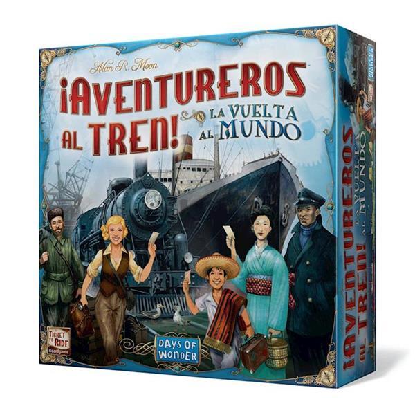 Imagen de Juego ¡Aventureros al Tren! La Vuelta al Mundo
