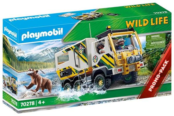 Imagen de Playmobil Wild Life Camión De Aventuras