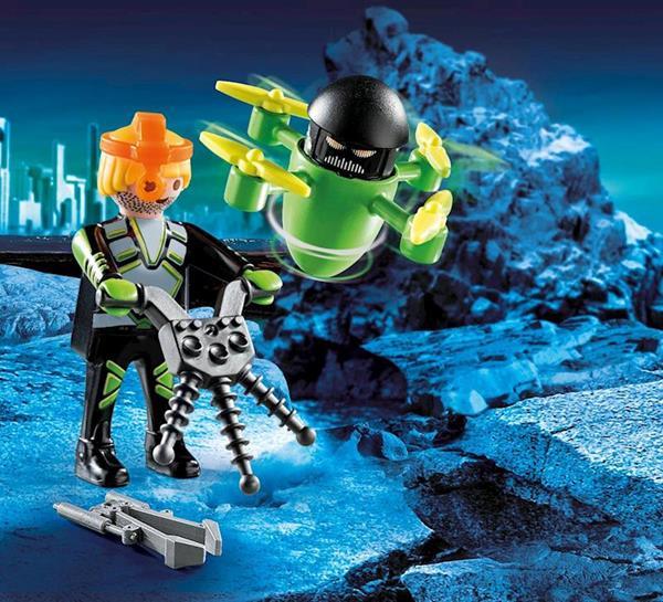 Imagen de Playmobil Special Plus Agente con Dron