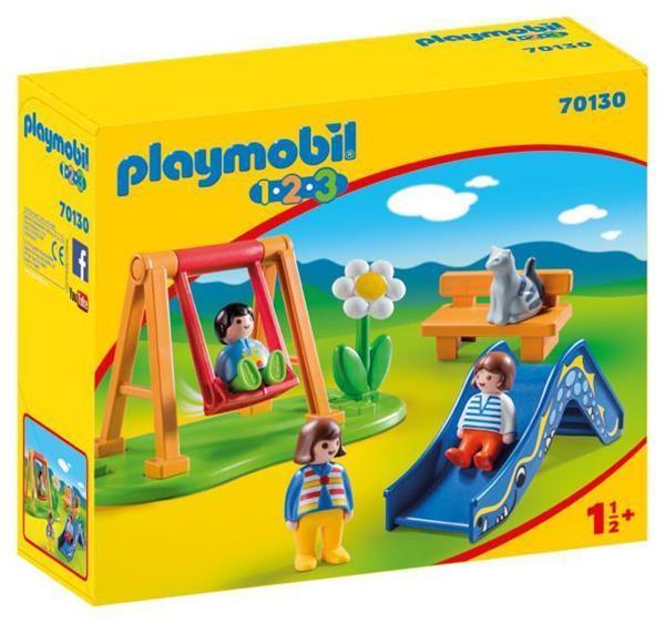 Imagen de Playmobil 1.2.3 Parque Infantil