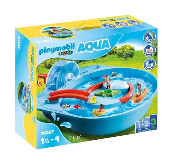 Imagen de Playmobil 1.2.3 Parque Acuático