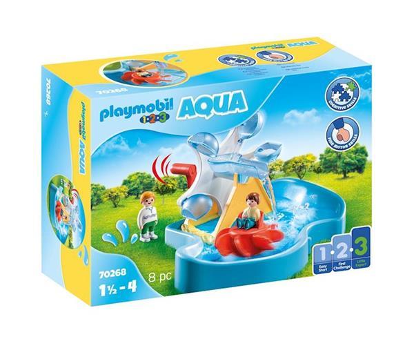 Imagen de Playmobil 1.2.3 Carrusel Acuático