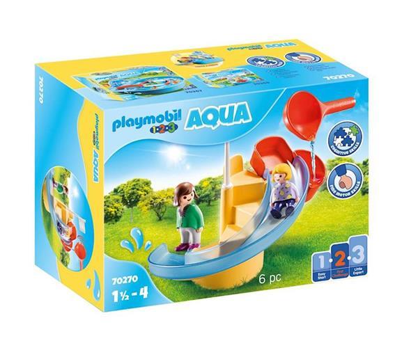 Imagen de Playmobil 1.2.3 Tobogán Acuático