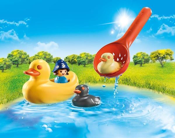 Imagen de Playmobil 1.2.3 Familia de Patos