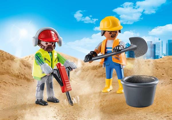 Imagen de Playmobil City Life Obreros