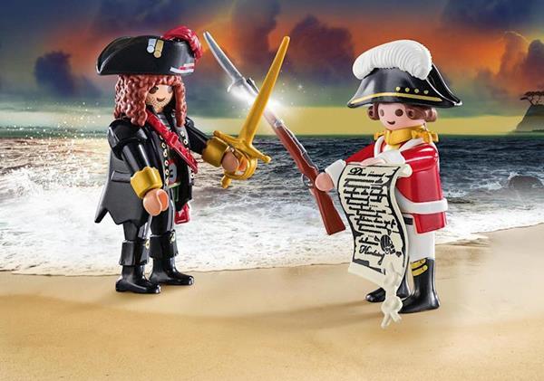Imagen de Playmobil Soldado y Pirata