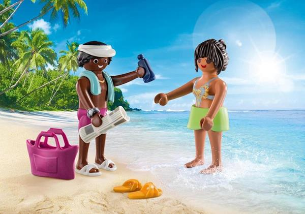 Imagen de Playmobil Family Fun Pareja de Vacaciones