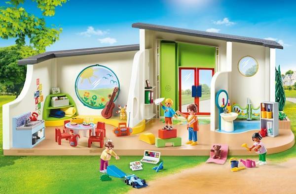 Imagen de Playmobil City Life Guardería Arcoíris