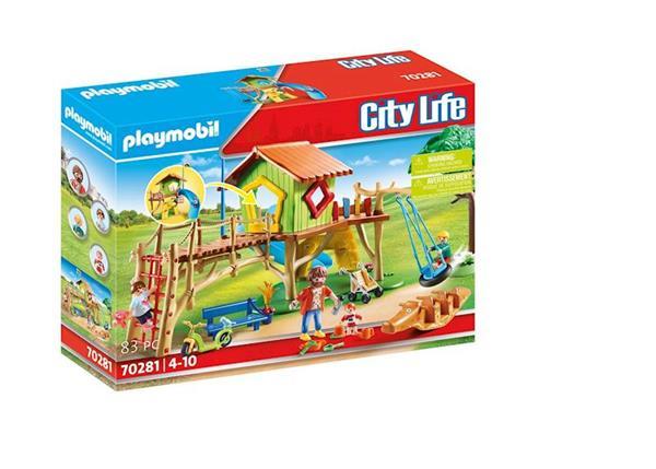 Imagen de Playmobil City Life Parque Infantil Aventura