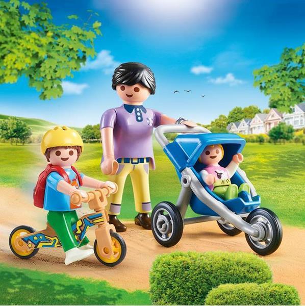 Imagen de Playmobil City Life Mamá con Niños