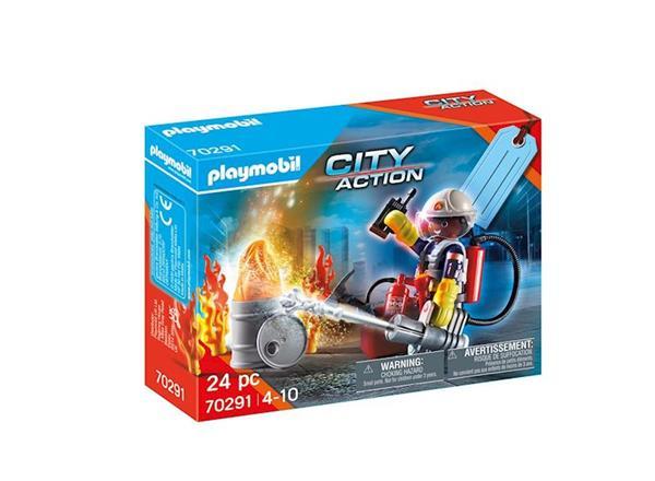 Imagen de Playmobil City Action Set Bombero