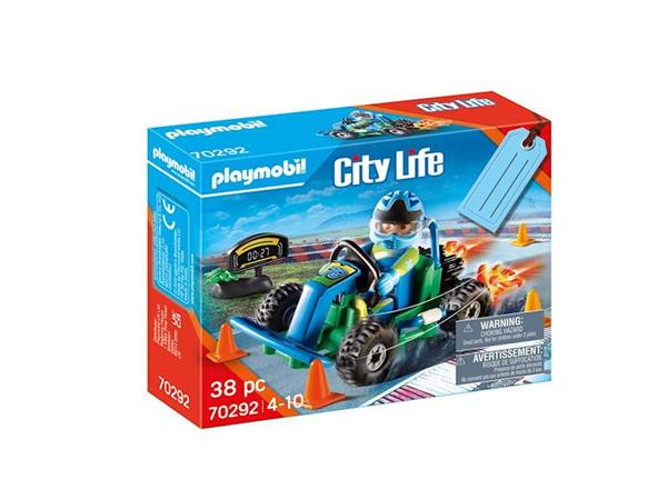 Imagen de Playmobil City Life Set Go-Kart