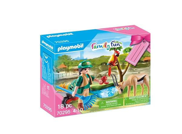 Imagen de Playmobil Family Fun Set Zoo