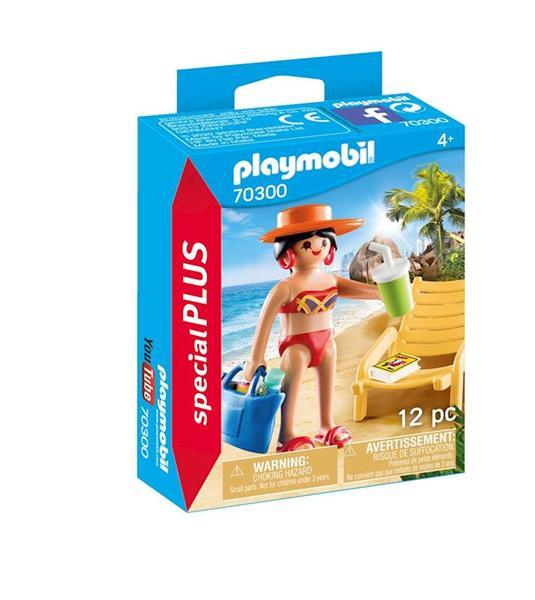 Imagen de Playmobil Special Plus Turista con Hamaca