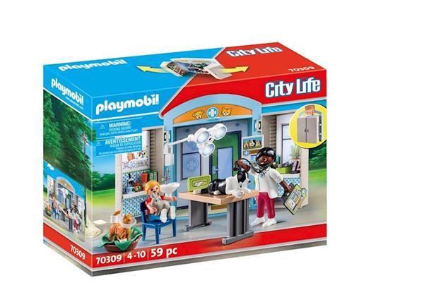 Imagen de Playmobil City Life Clinica Veterinaria Cofre