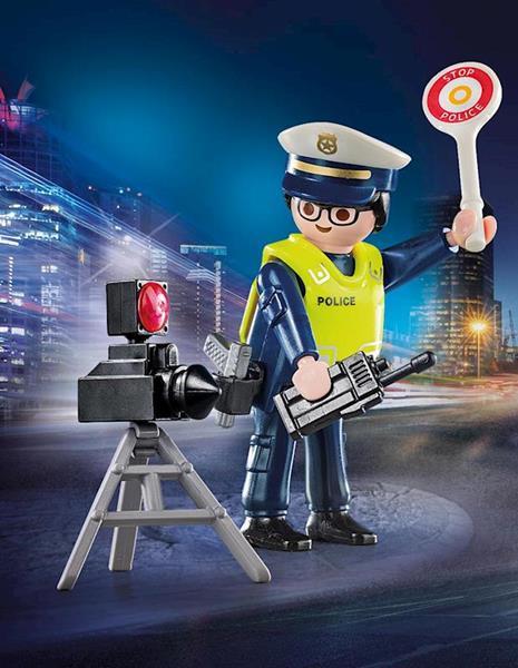 Imagen de Playmobil Special Plus Policía con Radar