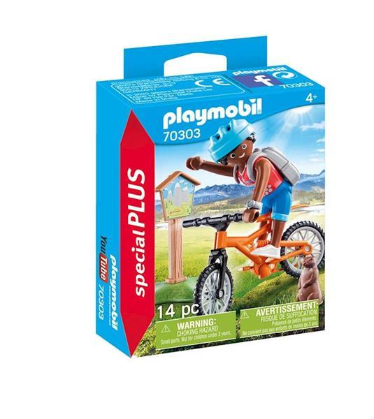Imagen de Playmobil Special Plus Ciclista de Montaña