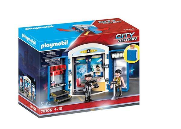 Imagen de Playmobil City Action Cofre Policía