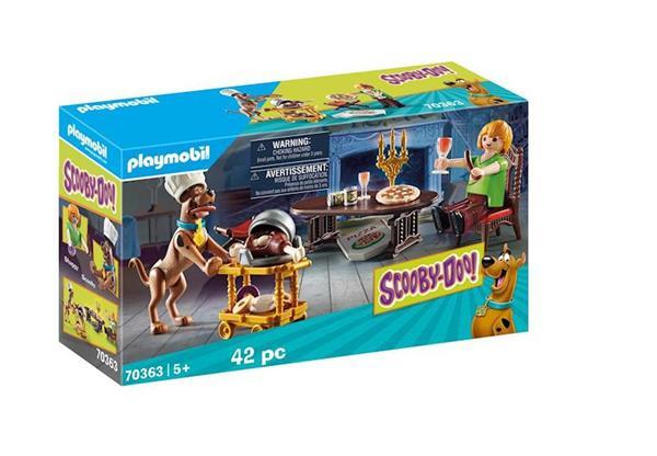 Imagen de Playmobil Scooby-Doo! Cena Con Shaggy
