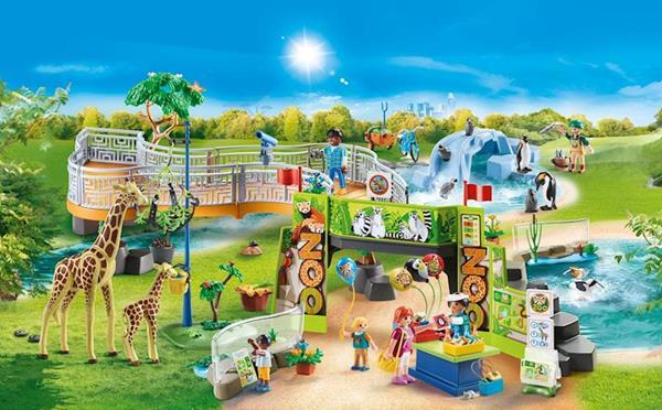 Imagen de Playmobil Family Fun Gran Zoo