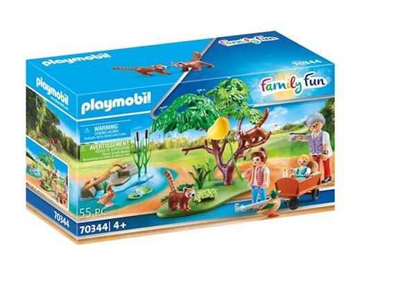 Imagen de Playmobil Family Fun Recinto Exterior de Pandas Rojos