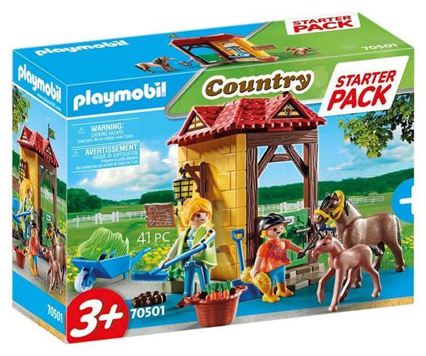 Imagen de Playmobil Country Starter Pack Granja de Caballos