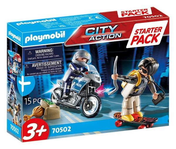 Imagen de Playmobil City Action Starter Pack Policía set adicional