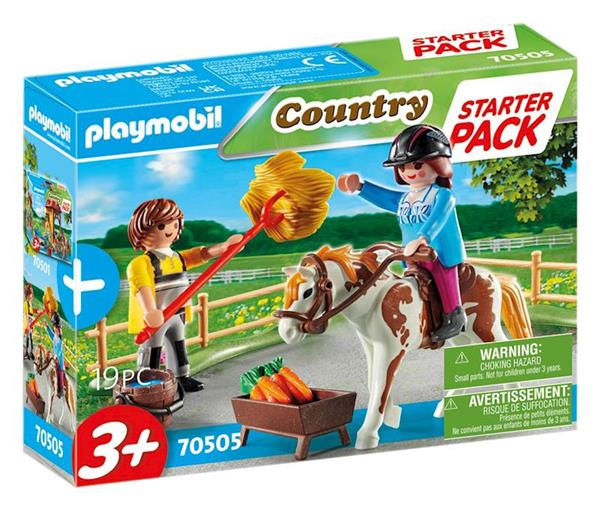 Imagen de Playmobil Country Starter Pack Granja de Caballos set adicional