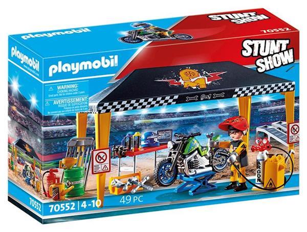 Imagen de Playmobil Stuntshow Tienda Taller