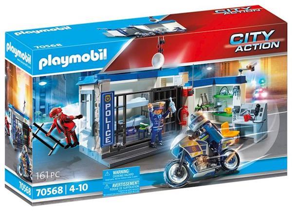 Imagen de Playmobil City Action Policía: escape de la prisión