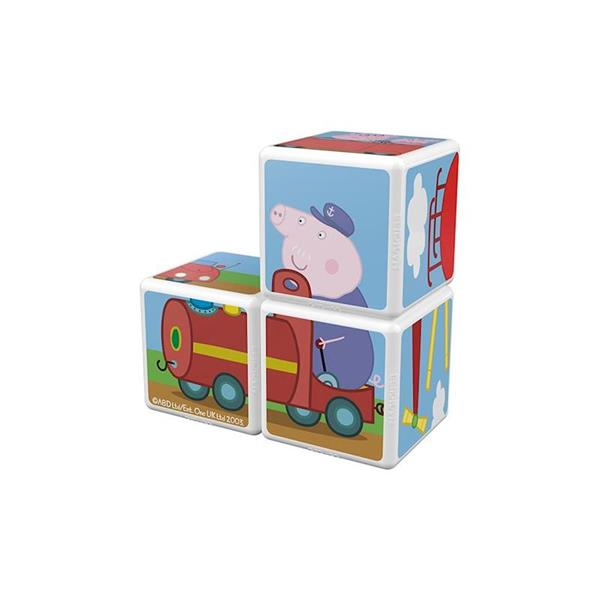 Imagen de 3 Cubos Magnéticos Peppa Pig Geomag Magicube
