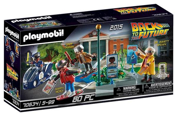 Imagen de Playmobil Back to the Future II Persecución Patinetes