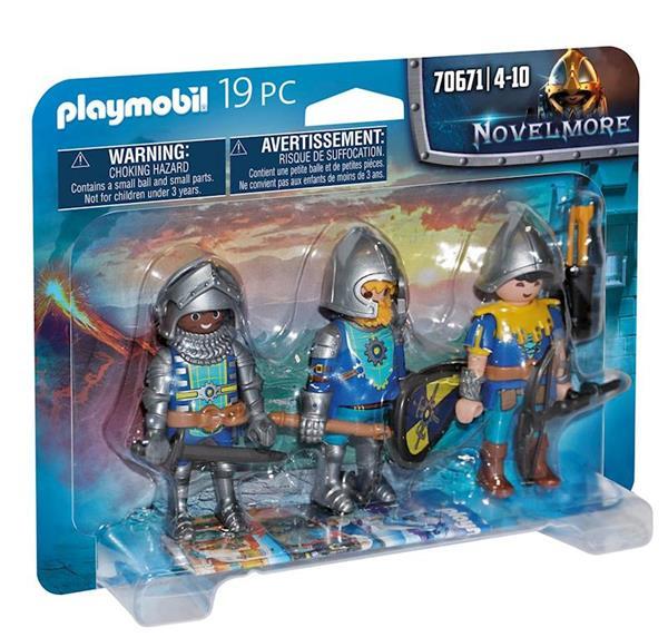 Imagen de Playmobil Novelmore Set de 3 Caballeros