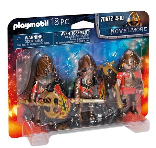 Imagen de Playmobil Novelmore Set de 3 Bandidos de Burnham