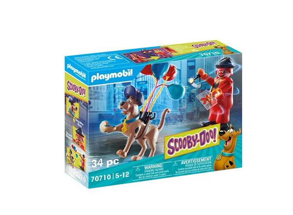 Imagen de Playmobil SCOOBY-DOO! Aventura con Ghost Clown