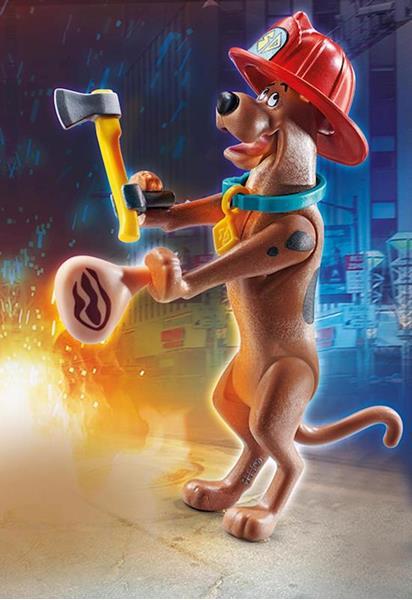 Imagen de Playmobil SCOOBY-DOO! Bombero