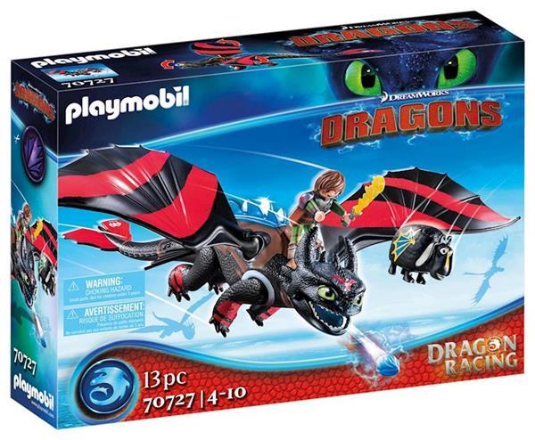 Imagen de Playmobil Dragon Racing Hipo y Desdentao