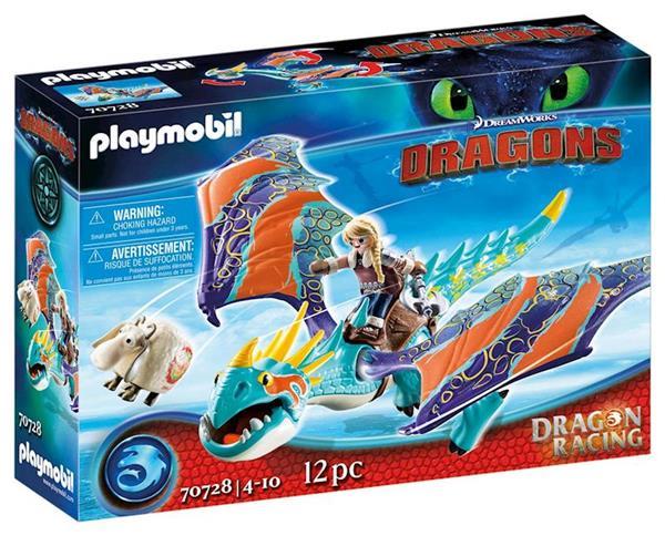 Imagen de Playmobil Dragon Racing Astrid y Tormenta