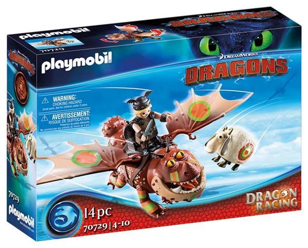 Imagen de Playmobil Dragon Racing Barrilete y Patapez