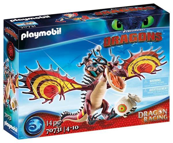 Imagen de Playmobil Dragon Racing Garfios y Patán Mocoso