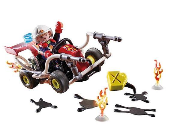 Imagen de Playmobil Stuntshow Kart Bombero