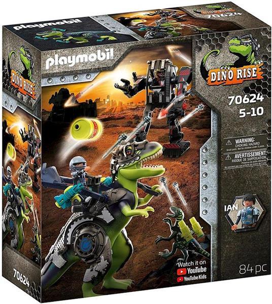 Imagen de Playmobil Dino Rise T-Rex Batalla de los Gigantes