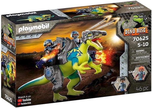 Imagen de Playmobil Dino Rise Spinosaurus Doble poder de defensa