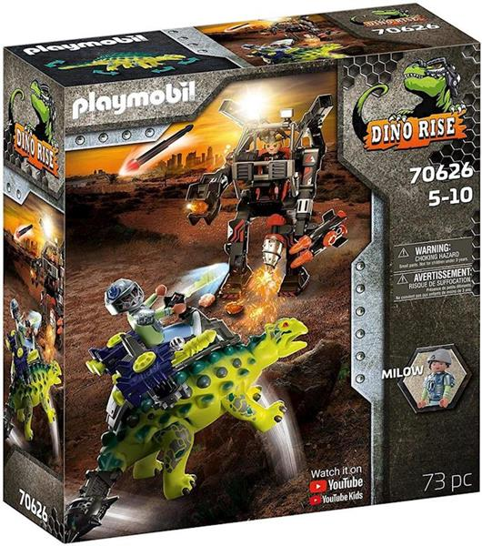 Imagen de Playmobil Dino Rise Saichania Defensa del Luchador